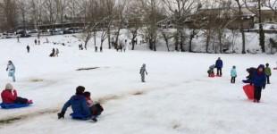 La nieve vuelve a Vitoria y Álava