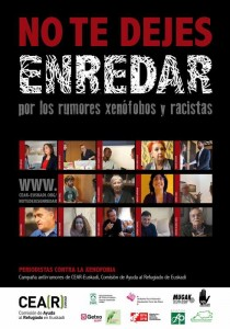 Campaña rumores CEAR y periodistas