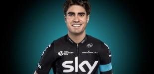 Mikel Landa acude al Giro como jefe de filas del Sky