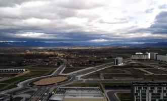 Casi 700 vehículos pesados cruzan cada día Arkaiate y Elorriaga