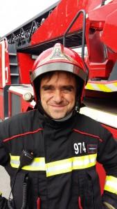 bombero mikel otero
