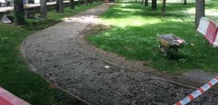 El Parque del Prado se reforma para los atletas