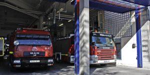 Dos heridos por el incendio de su cocina en Zaramaga