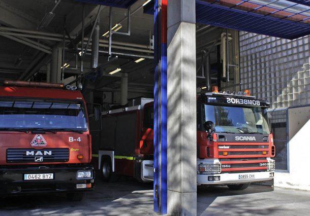 La Diputación rebaja las notas de la OPE de bomberos tras un fallo informático