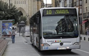 linea 10 tuvisa autobus