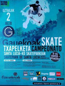 skate competición
