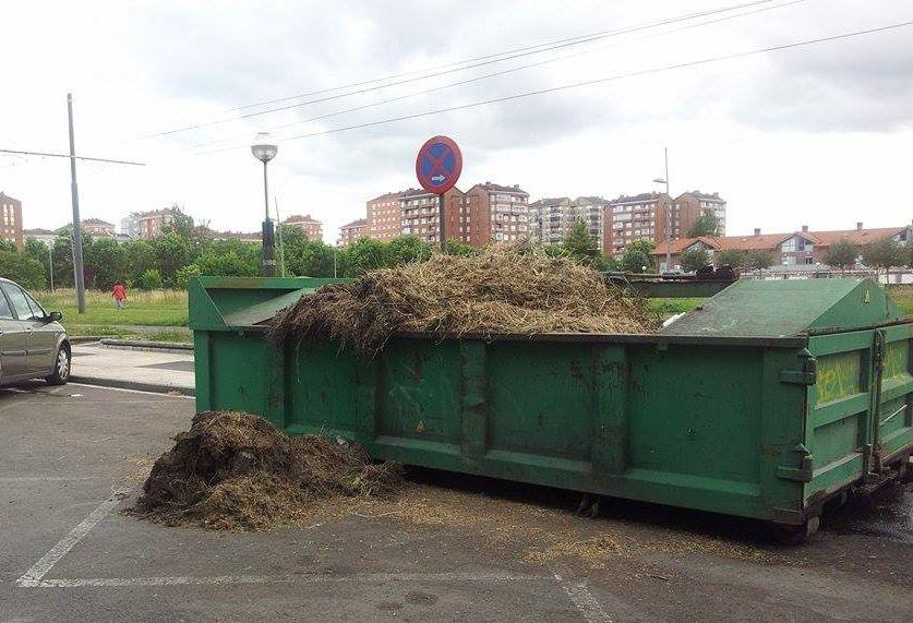 contenedor basura