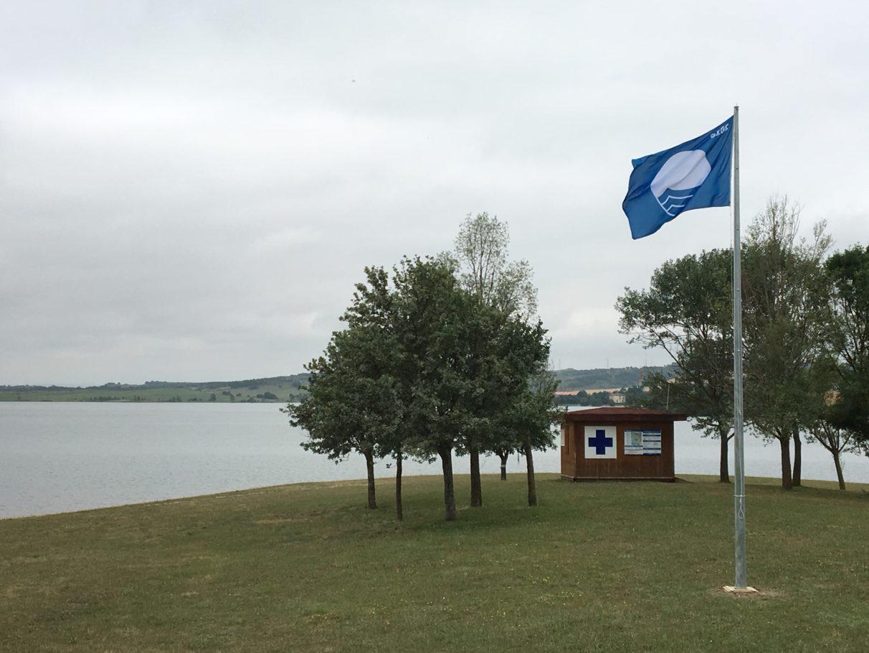 bandera azul alava