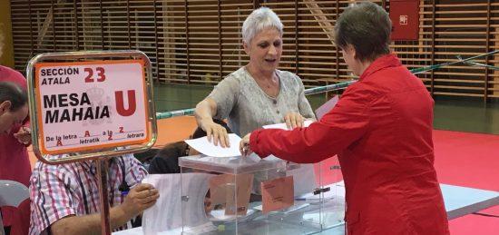 mesa electoral vitoria 28 abril