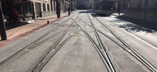 El peligro del tranvía para las 'fixie'