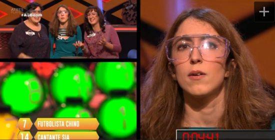 Cristina: la vitoriana 'magnífica' de Saber y Ganar, abandona como 'Extremi' en Boom