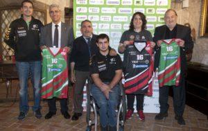 20-10-2016 Vitoria - Gasteiz Rueda de prensa Zuzenak, Ayuntamiento, Caja Vital y Michelin. Nuria González