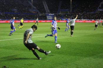 Cruel derrota del Alavés con un gol en el 89