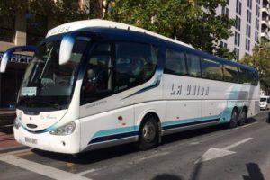 Álava llevará a los tribunales a Bizkaia por la línea de bus Bilbao-Vitoria