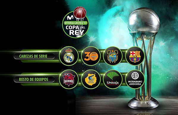 Baskonia se enfrentará al Tenerife en Cuartos de la Copa del Rey