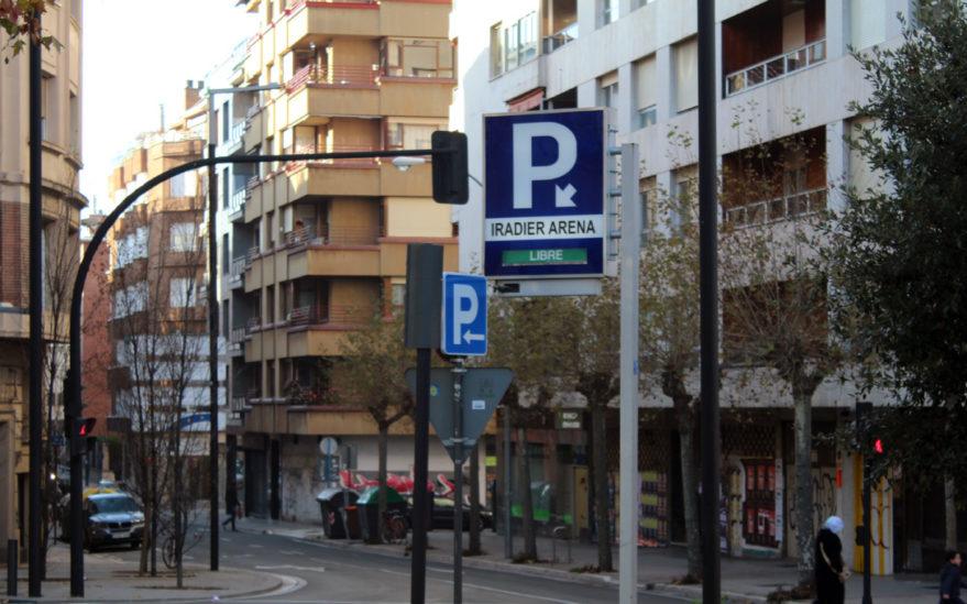 parking iradier arena