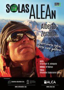 Entrevista abierta al escalador Alberto Zerain @ Oihaneder Euskararen Etxea