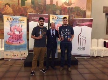 Alejandro Salcedo concurso nacional jóvenes cocineros