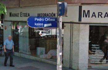 calle Pedro Orbea