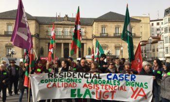 caser residencial protestas