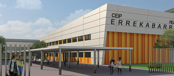 Nuevo retraso en Errekabarri: el colegio no estará listo hasta 2020