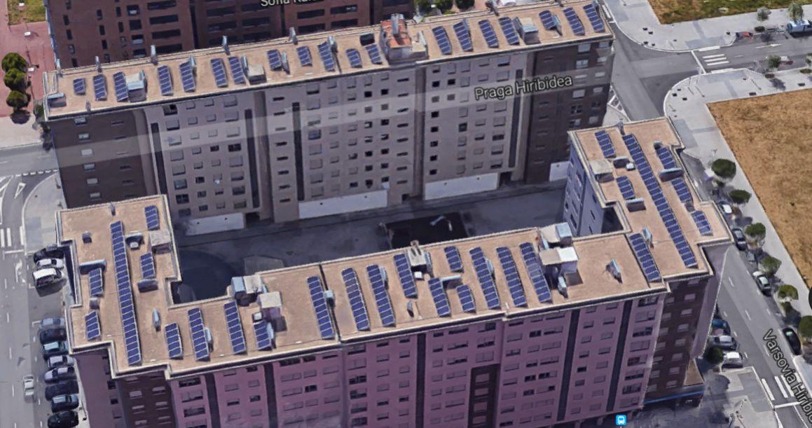 paneles solares en salburua