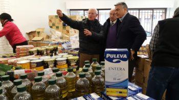 Delegación Gobierno País Vasco - Entrega de alimentos