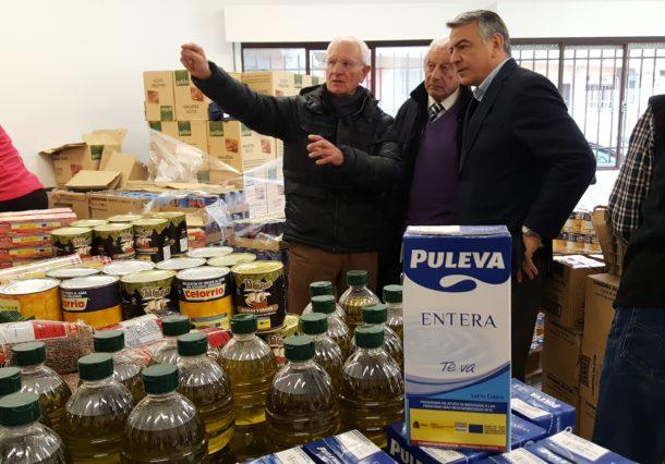 El Banco de Alimentos y la Cruz Roja de Euskadi reciben 2'6 toneladas de alimentos