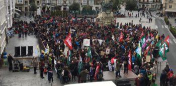 Huelga enseñanza Euskadi