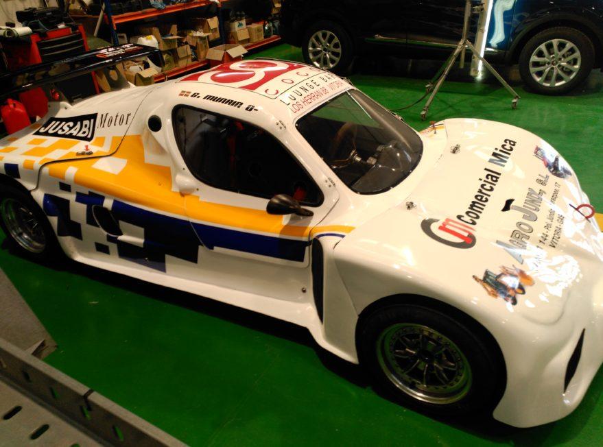 Así es el coche de Rallyes conducido por un vitoriano