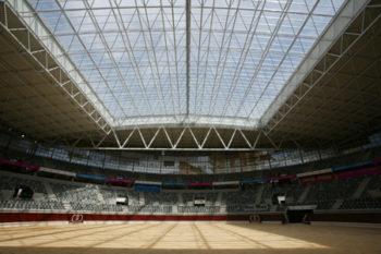 Iradier Arena acústica extraordinaria
