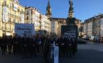 Una concentración de 4 horas recuerda a todas las víctimas del terrorismo