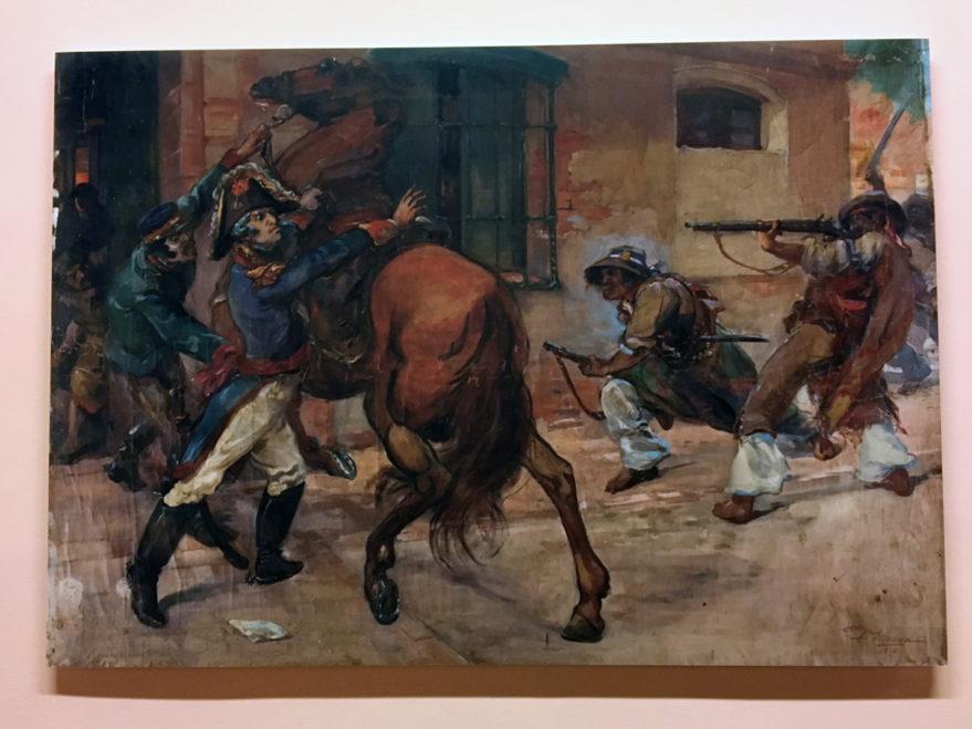 El prendimiento del General Lieniers, de Pablo Uranga