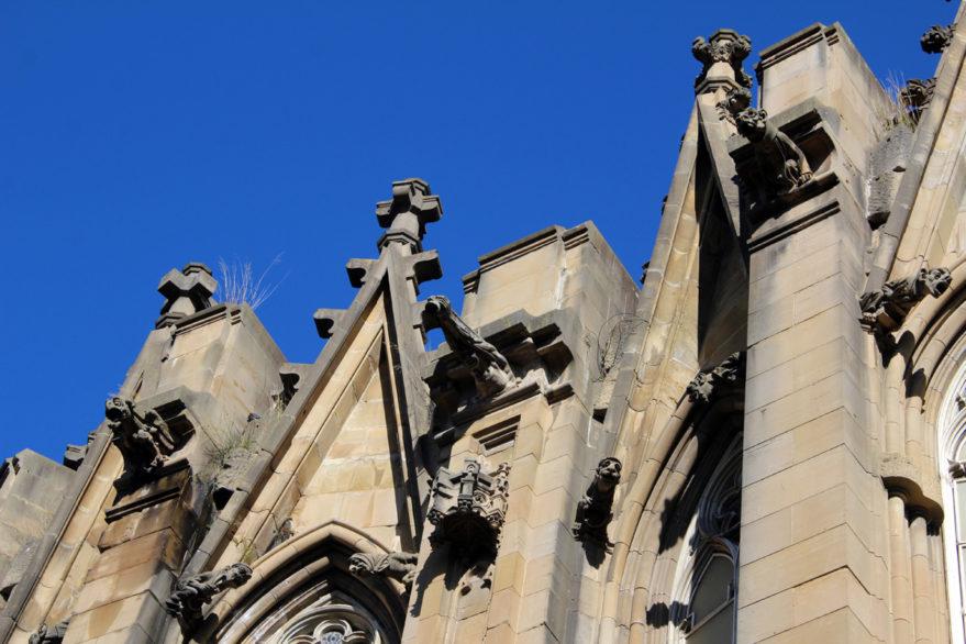 Gárgolas en la Catedral Nueva