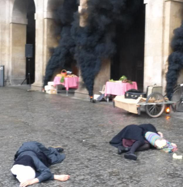 bombardeo de Gernika en Vitoria-Gasteiz