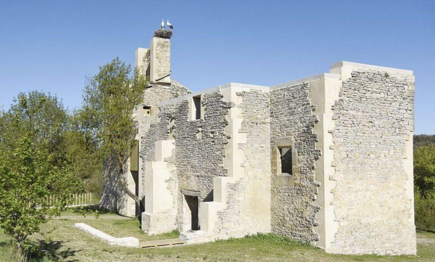 Garaio recupera la estructura de su iglesia
