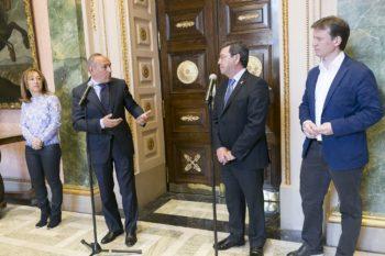 Álava y Burgos firman un acuerdo para atender a los vecinos de Treviño