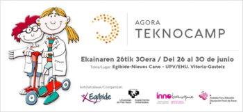 Apunta a tus hijos al campus urbano Agora TeknoCamp antes del 30 de mayo