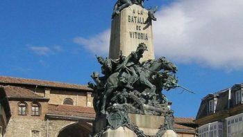 Vitoria-Gasteiz organiza visitas guiadas al monumento a la Batalla de Vitoria