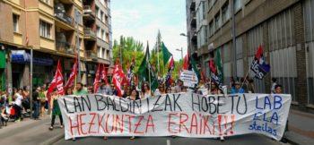 huelga sindicatos educacion