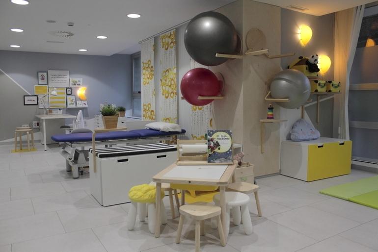 Santiago estrena un gimnasio infantil con muebles de Ikea
