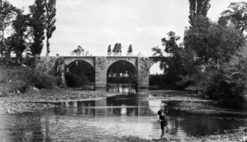puente abetxuko foto antigua