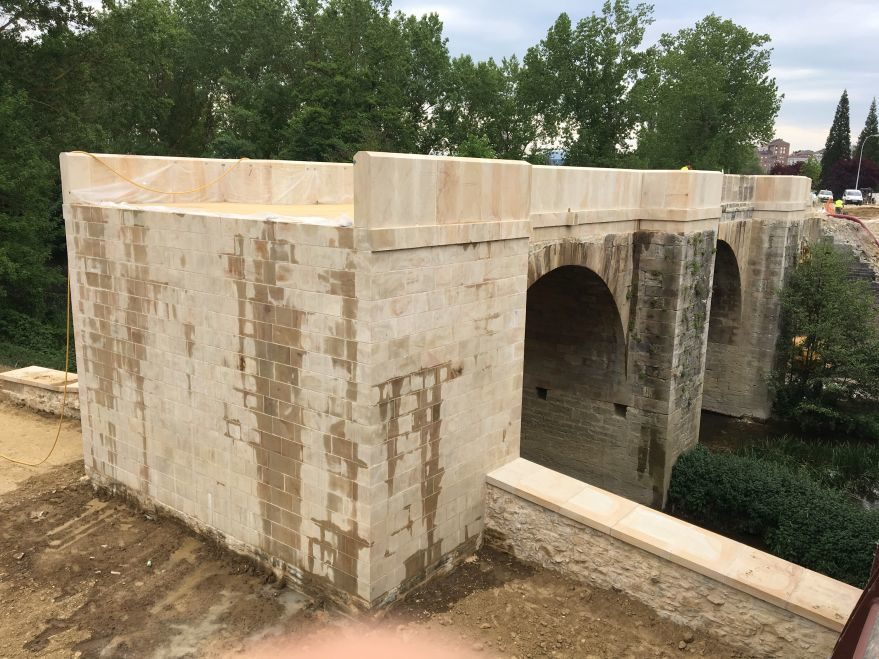 obras puente Abetxuko