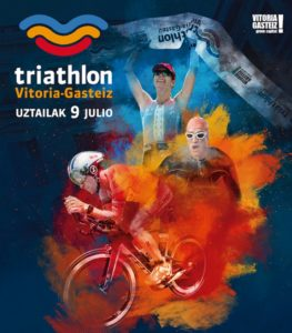 2.388 triatletas participarán el 9 de julio en el Triatlón Vitoria