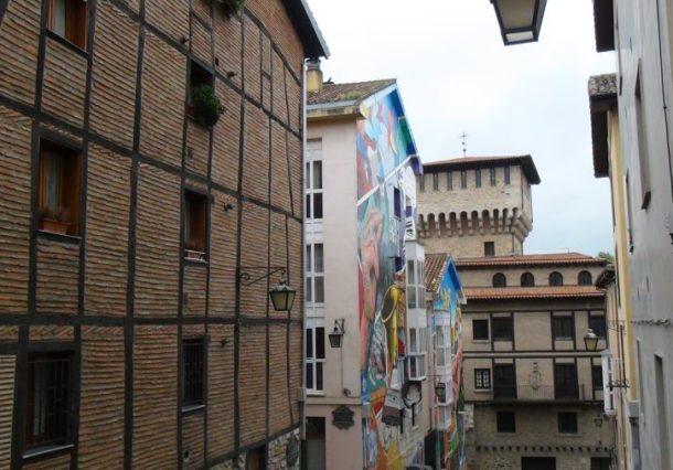 Vitoria-Gasteiz tendrá tres nuevos murales realizados por Irantzu Lekue y Werckmeister