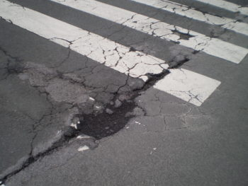 baches carretera calle barandiaran