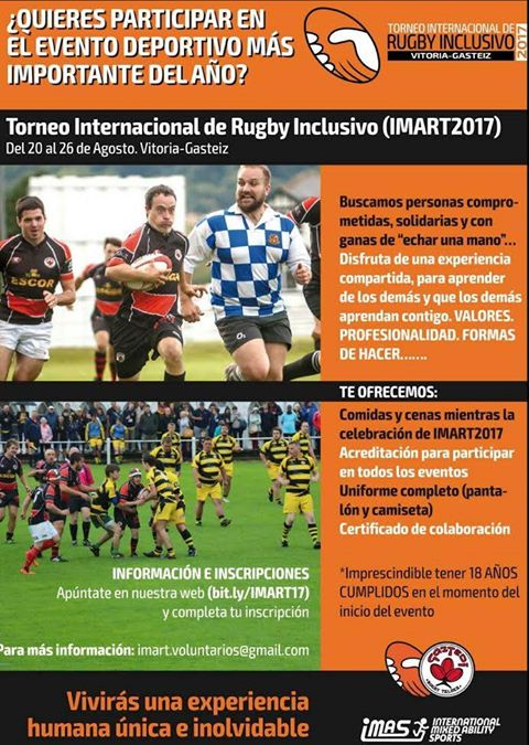 Resultado de imagen de mundial de rugby inclusivo