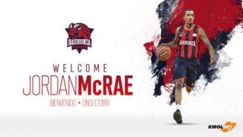 El Baskonia ficha a Jordan McRae