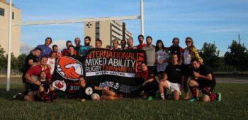 Comienza el Torneo Internacional de Rugby Inclusivo