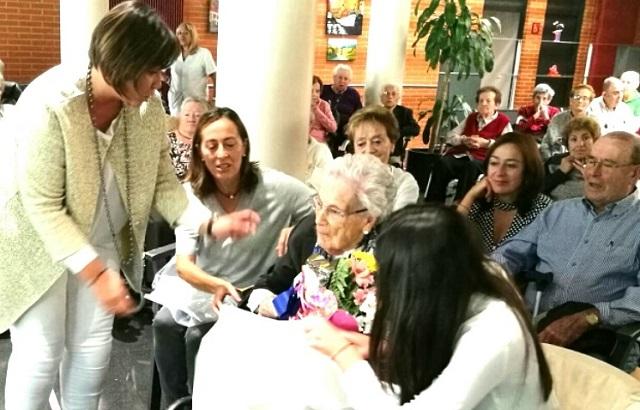 Centenaria Amparo Ortiz Manzanos Ajuria sep 2017